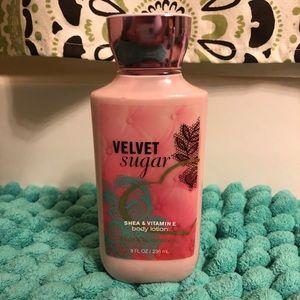 Velvet Sugar Bath and Body Works Lotion